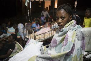 Землетрясение на Гаити: север острова разрушен, есть жертвы