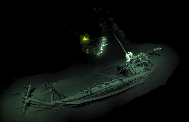 Древнейший затонувший корабль обнаружили в Черном море