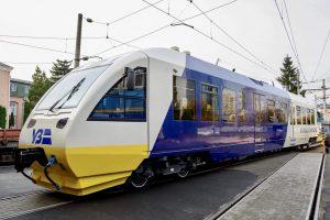 В Киеве запускают рельсобус