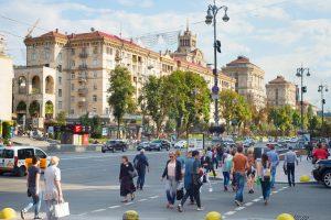 Какими деревьями засадят главную улицу Киева