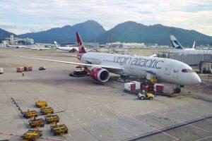 Самолет пересек Атлантику на топливе из вредных выбросов