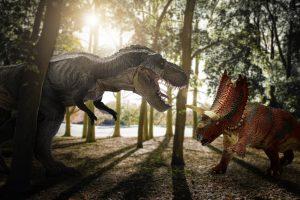 Гладкая кожа и толстое брюхо: ученые реконструировали тираннозавра
