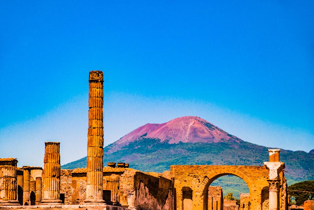Извержение Везувия превратило кровь жителей Геркуланума в пар