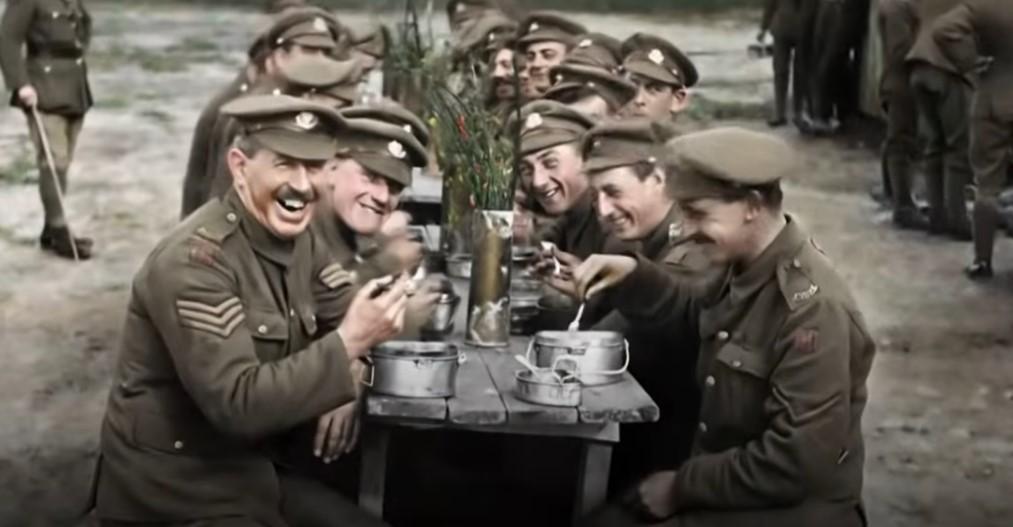 Питер Джексон оживил архивные кадры Первой мировой войны