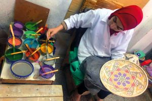 Марокканский чай как измеритель времени