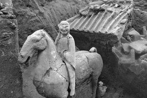 В Китае нашли мини-версию Терракотовой армии