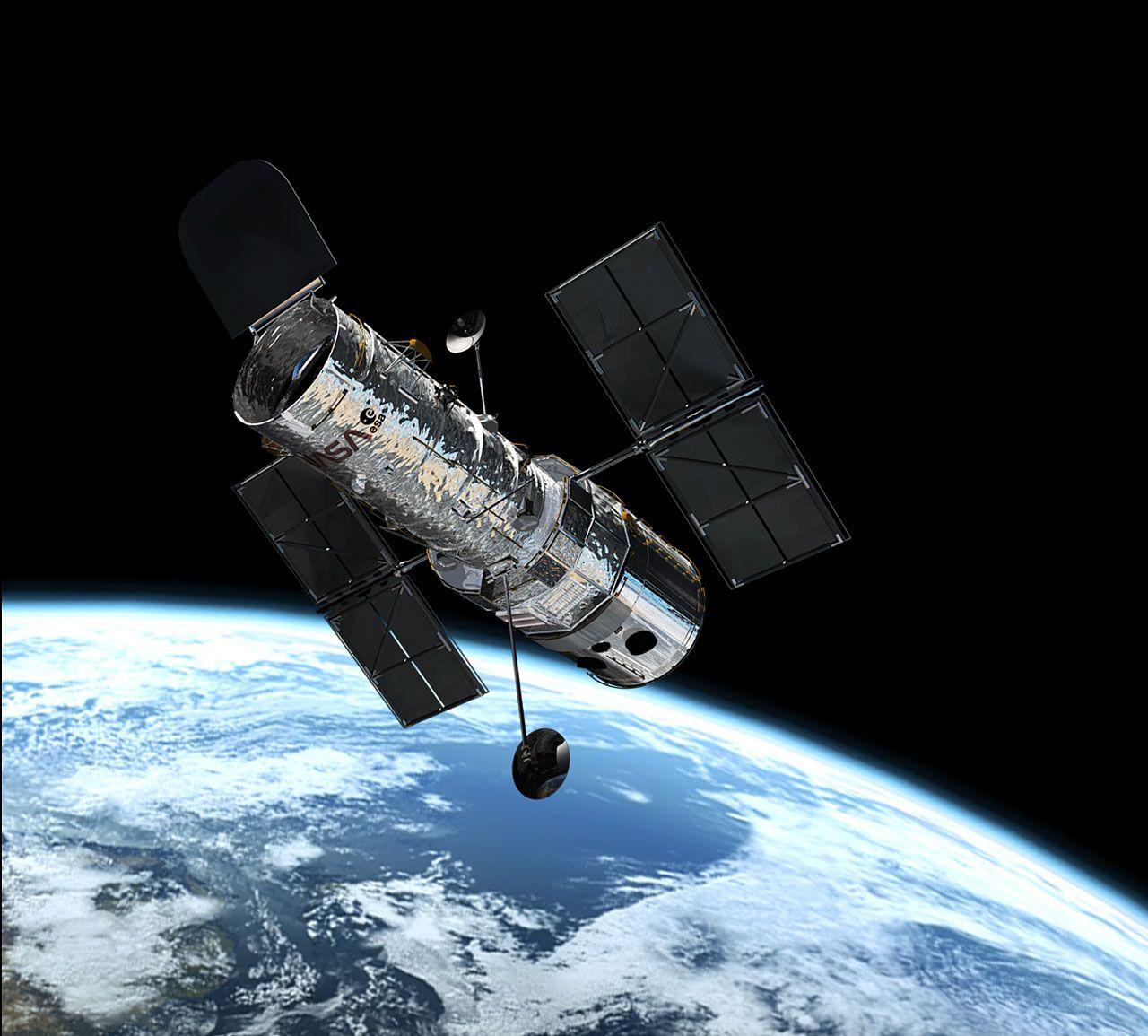 ТОП-10 открытий телескопа Hubble