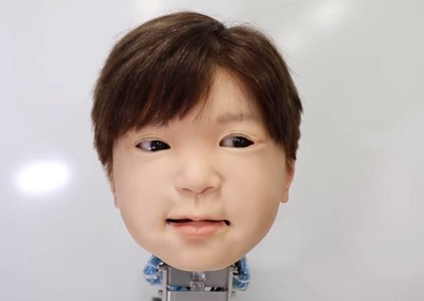 В Японии создали робота-ребенка.Вокруг Света. Украина
