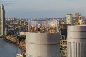 В Лондоне построят обзорный лифт в трубе электростанции