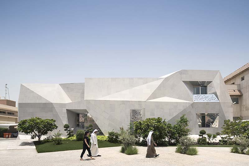 В Кувейте построили здание-оригами