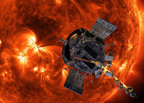 Зонд Parker Solar Probe заснял солнечный ветер