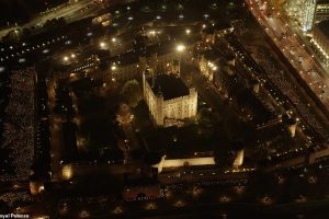 У Тауэра в Лондоне зажгли 10 тысяч огней (видео)