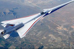 NASA построит тихий сверхзвуковой пассажирский лайнер