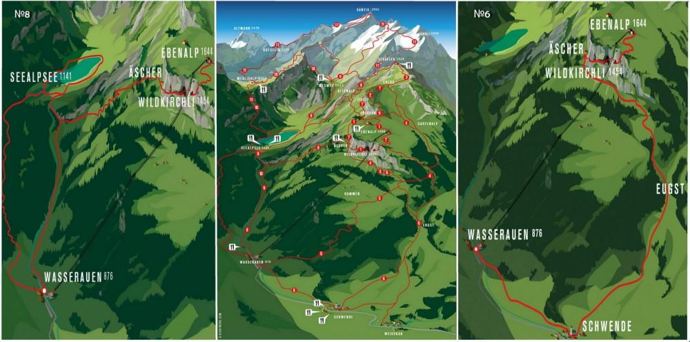 Аппенцелльские Альпы Трекинг по-швейцарски: Аппенцелльские Альпы 63614 1000