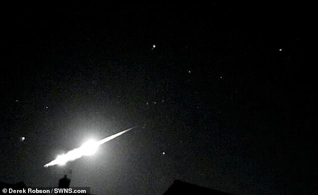 Астроном-любитель случайно снял взрыв метеора над Великобританией