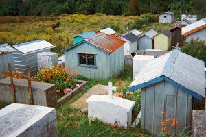 В Чили мертвецам строят дома
