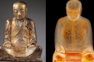 Китайская деревня просит Нидерланды вернуть Будду с мумией монаха внутри
