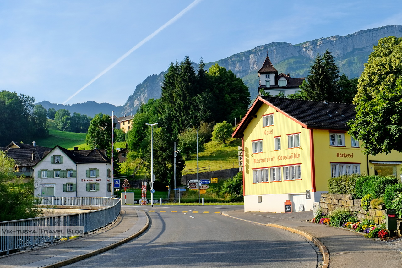 Аппенцелльские Альпы Трекинг по-швейцарски: Аппенцелльские Альпы DSCF7154