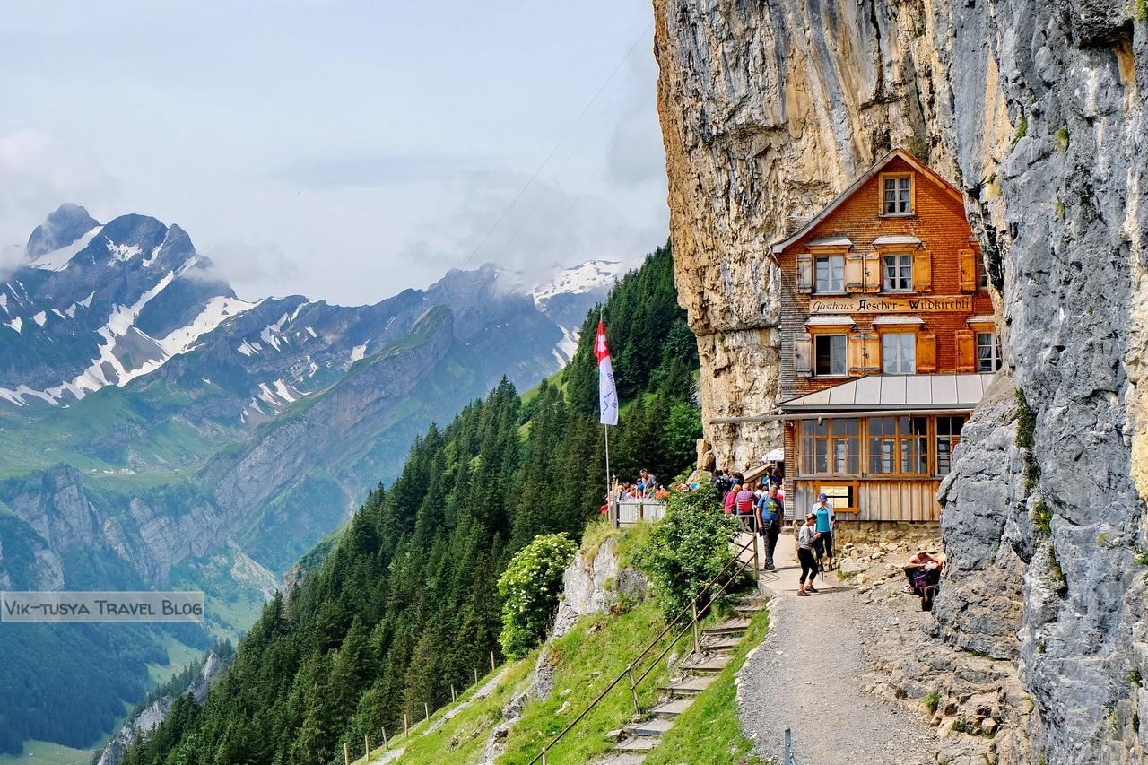 Аппенцелльские Альпы Трекинг по-швейцарски: Аппенцелльские Альпы DSCF7260