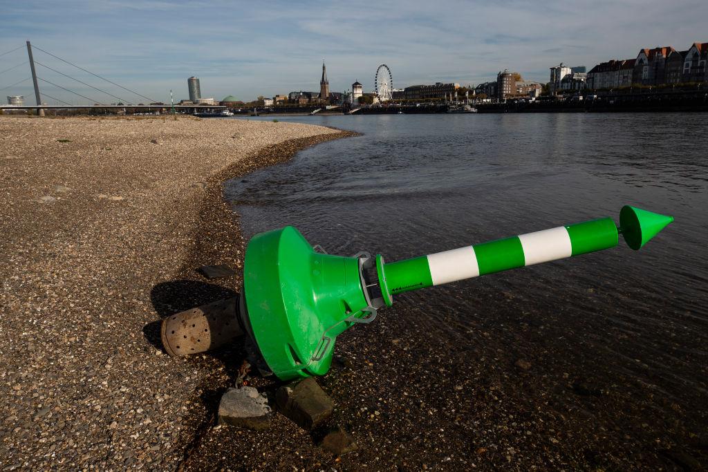 В Европе из-за мелководья отменяют речные круизы