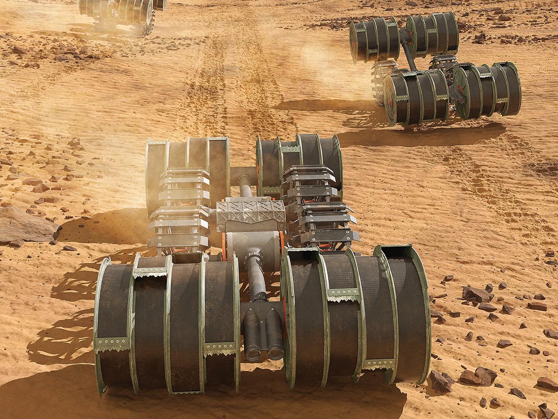 NASA собирается добывать топливо из марсианского грунта.Вокруг Света. Украина