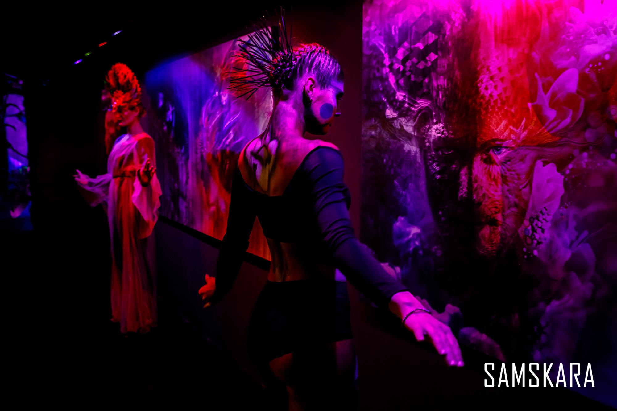 В Киеве открылась всемирно известная выставка Samskara