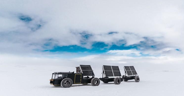 Пара из Нидерландов планирует покорить Южный полюс на солнечных батареях