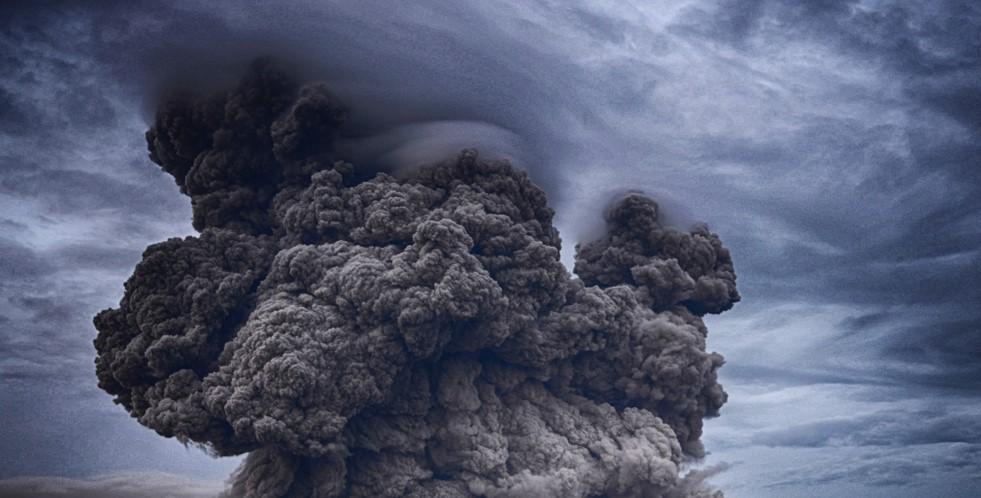 Извержение вулкана Эбеко.Вокруг Света. Украина