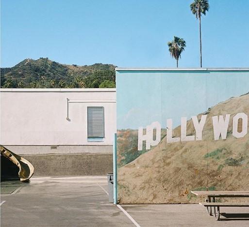 Австралийский фотограф снимает необычный Лос-Анджелес
