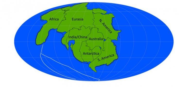 Каким будет суперконтинент будущего? Ученые показали несколько вариантов.Вокруг Света. Украина