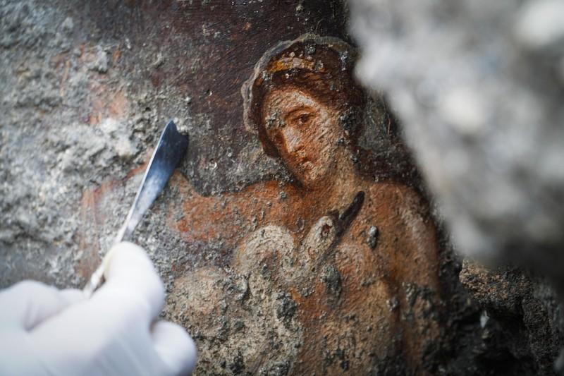 Леда и лебедь: при раскопках в Помпеях нашли уникальную фреску.Вокруг Света. Украина