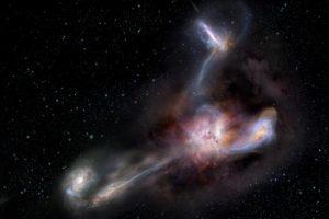 Ярчайшая галактика во вселенной