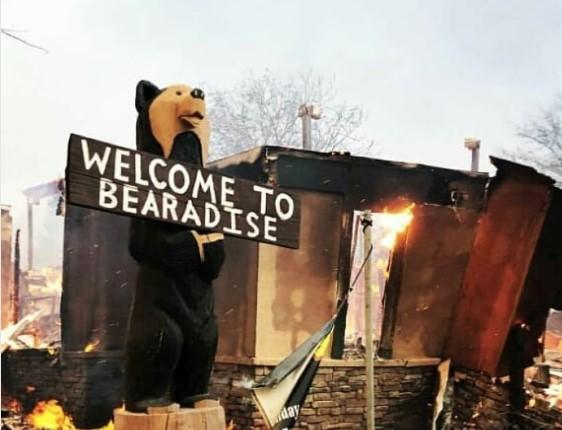 В Калифорнии лесной пожар уничтожил город Парадайз.Вокруг Света. Украина