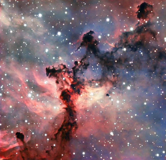 Астрономы получили снимок туманности Розетка