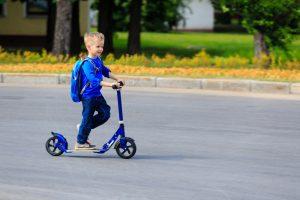 В Венеции 5-летнего мальчика оштрафовали за поездку на самокате