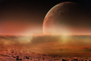 На Марсе обнаружили систему древних озер