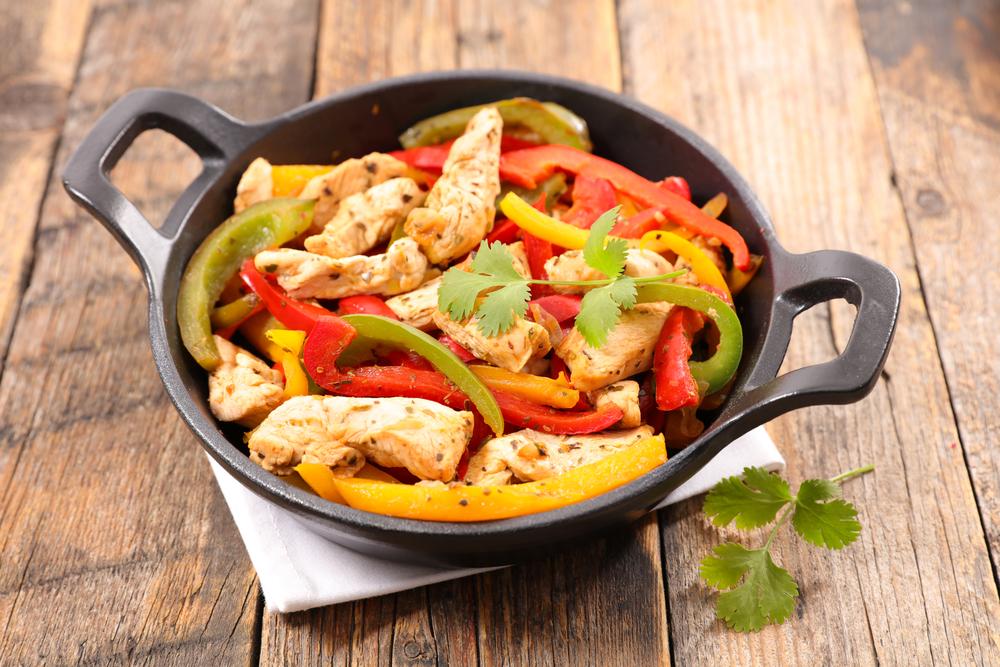 Кухни мира: фахитас с курицей