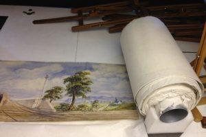 В Лондоне на торги выставили картину длиной 50 метров