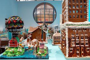 В Стокгольме прошли соревнования по строительству пряничных домиков