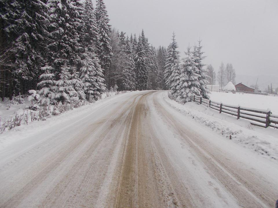 В Карпатах насыпало снега выше колена