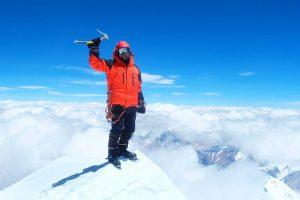 Украинский альпинист Андрей Вергелес: