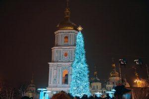 Киевскую елку признали лучшей среди рождественских елок Европы