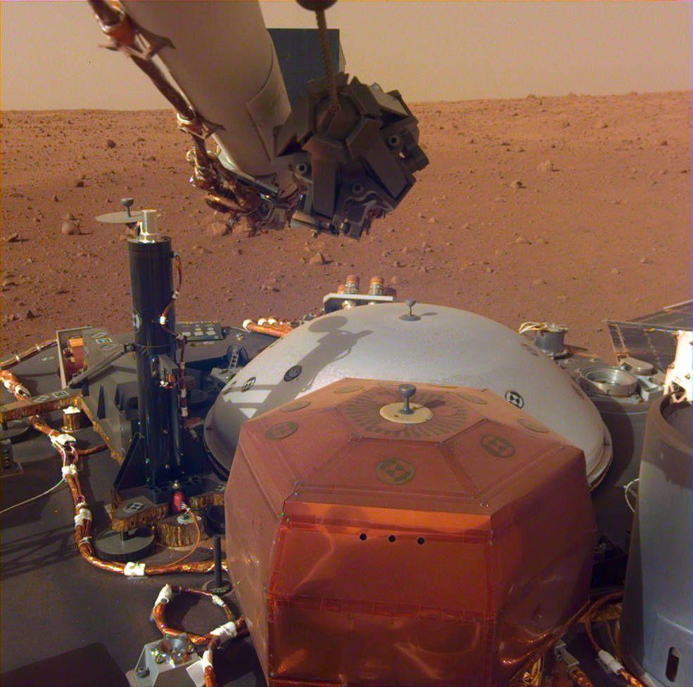 InSight записал звуки ветра на Марсе.Вокруг Света. Украина