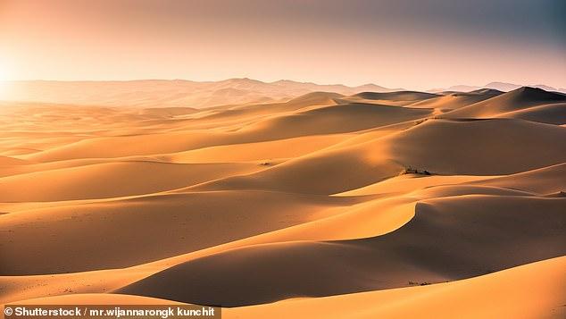 Песок из Сахары ученые нашли в Карибском море