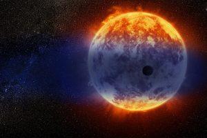 Астрономы нашли экзопланету, которая стремительно испаряется