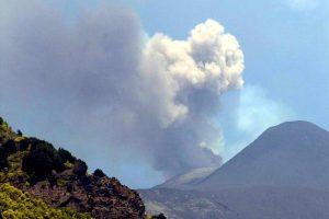 Восхождение украинцев на активный вулкан Этна (видео)