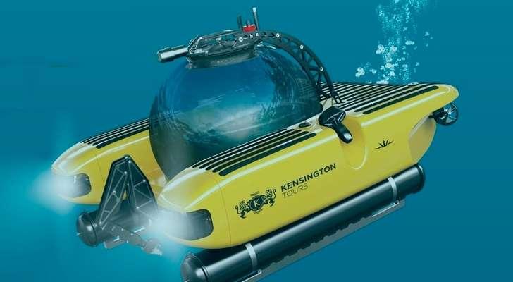 В 2019 году появится первый в мире тур на подводных лодках