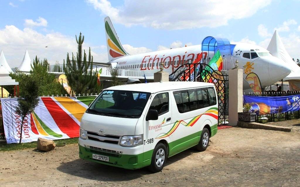 В Эфиопии старый самолет превратили в кафе (видео)