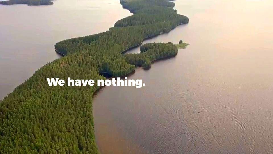 Финны сняли рекламный ролик за 5000 евро про место, где «ничего нет»