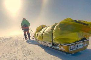 Американец стал первым человеком, в одиночку пересекшим Антарктиду